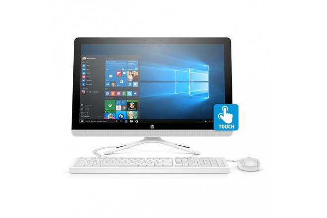 "PC All In One HP - 22-B207 - AMD A6 - 21.5"" Pulgadas - Disco Duro 1Tb - Blanco"