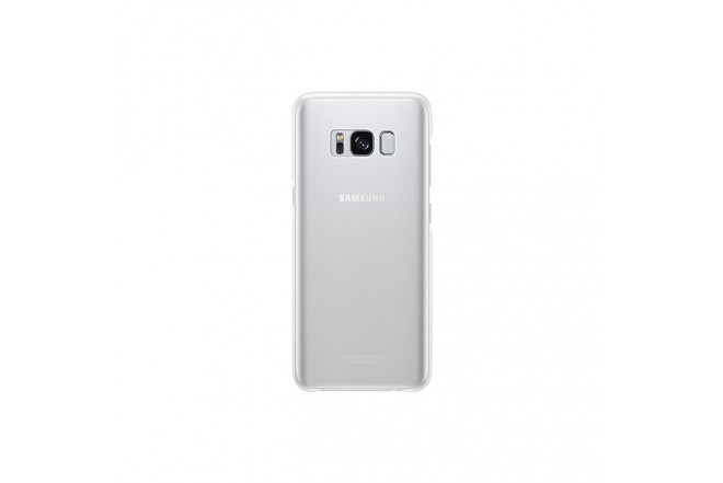 Clear Cover SAMSUNG S8 Plata