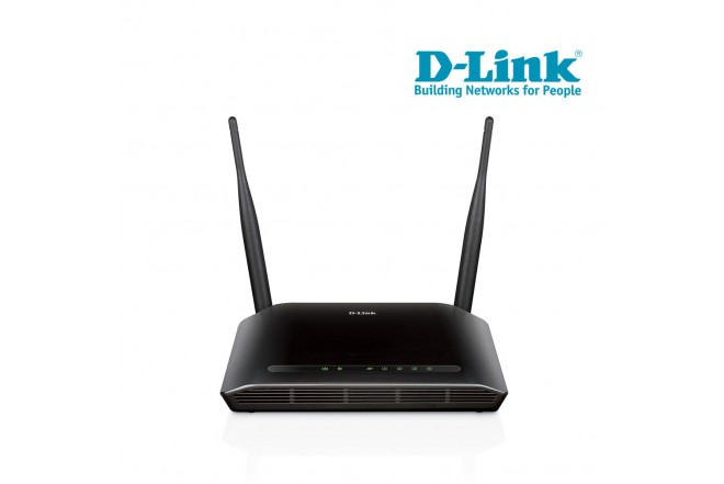 Router D-LINK WiFi 2 Antenas 300Mbps