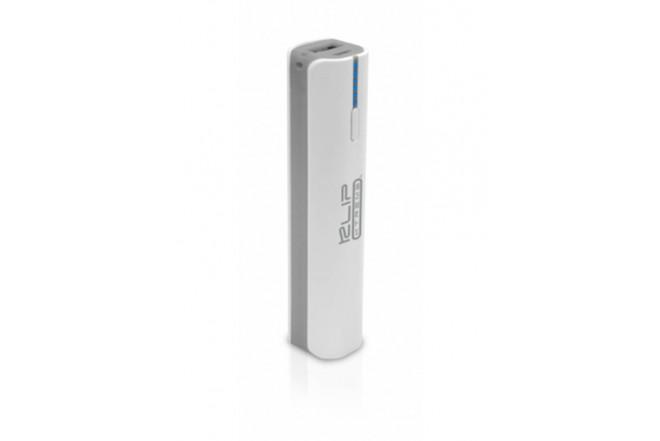 Batería Recargable KLIP XTREME 2.600mAh Linterna Gris