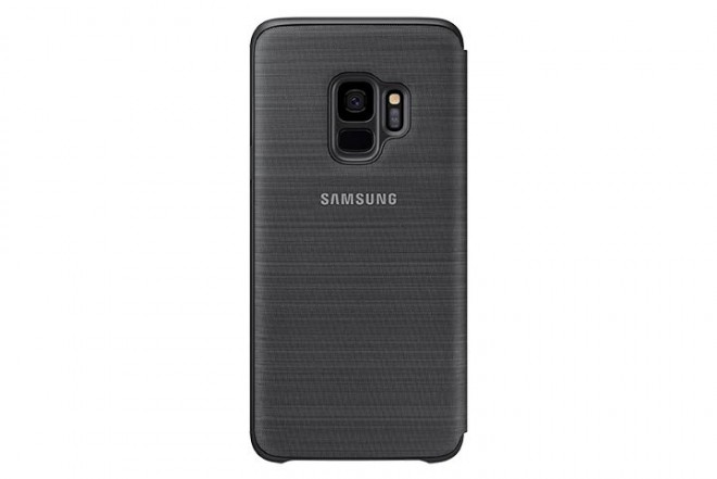 Led View Cover SAMSUNG S9 Negro