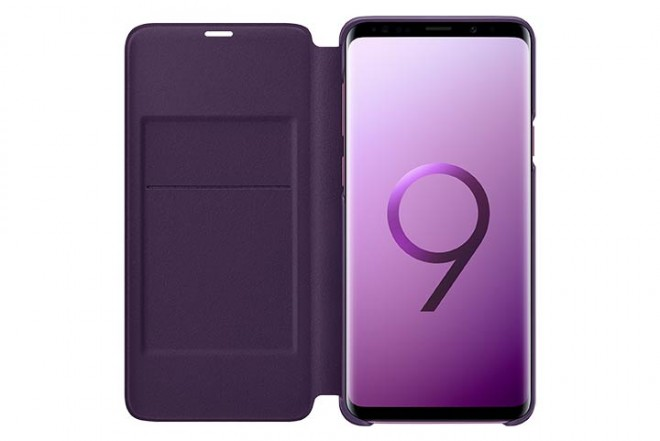 Led View Cover SAMSUNG S9 Plus Violeta