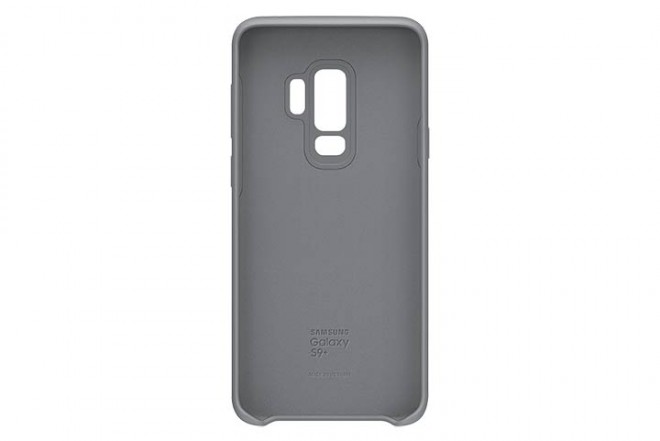 Cover Silicone SAMSUNG S9 Plus Gris