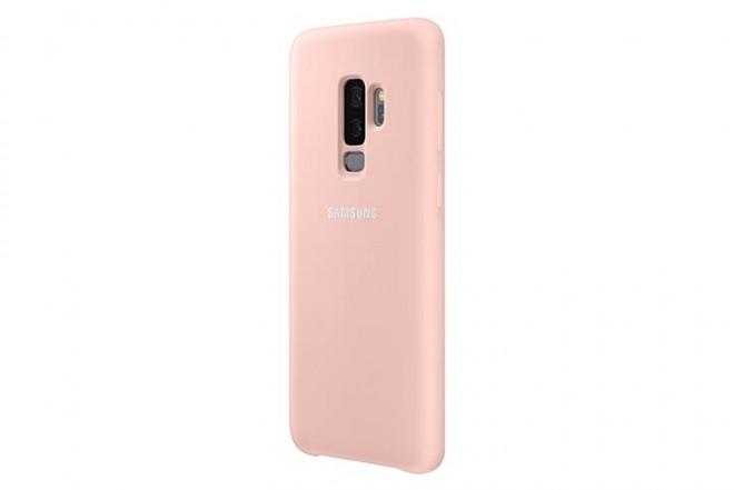 Cover Silicone SAMSUNG S9 Plus Rosado