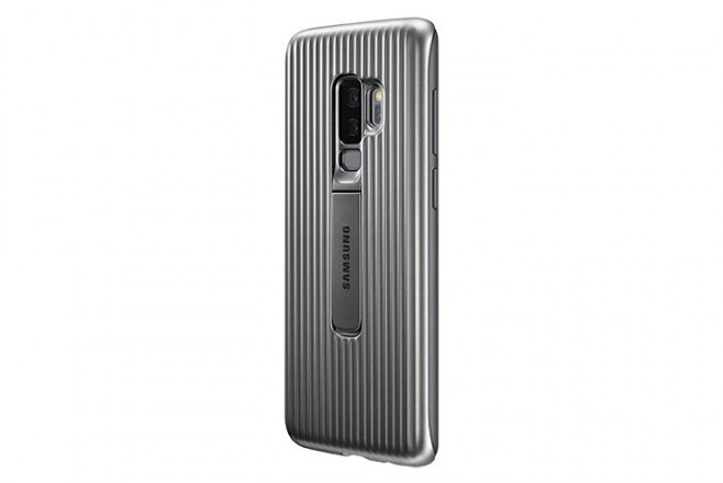 Cover Protective SAMSUNG S9 Plus Plateado