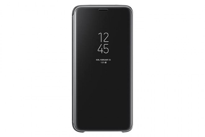 Clear View Stand SAMSUNG S9 Negro