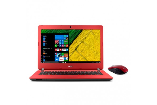 "Portátil ACER - ES1-432-C2YJ - Intel Celeron - 14"" Pulgadas – Disco Duro 500Gb  – Rojo/Negro"