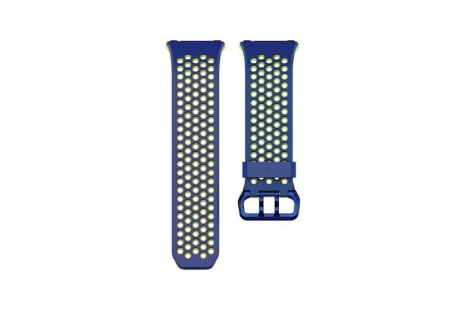 Banda FITBIT Ionic Sport Azul/Amarillo S