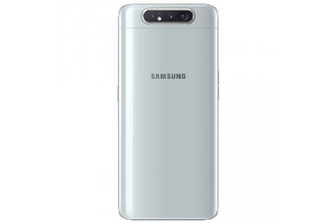 Celular SAMSUNG Galaxy A80 2019 - 128GB Blanco + JBL Flip 4 1