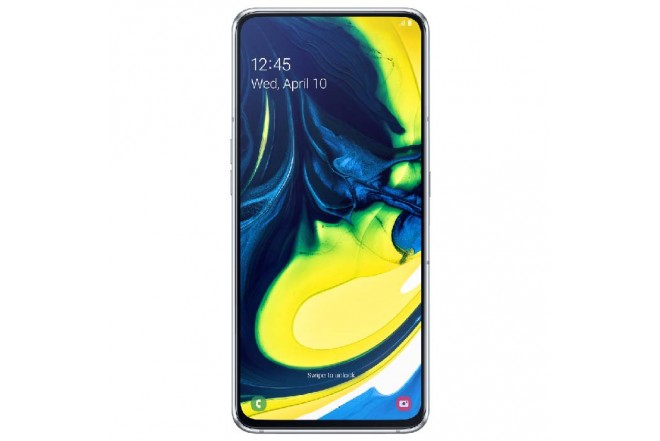 Celular SAMSUNG Galaxy A80 2019 - 128GB Blanco + JBL Flip 4 3