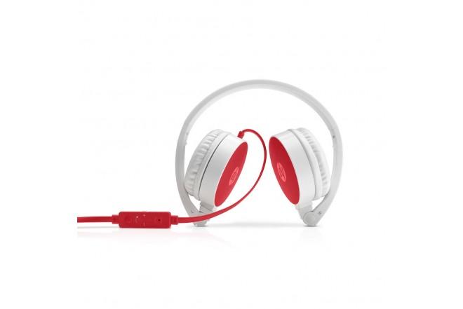 Audífono HP Alámbrico On Ear H2800 - Rojo