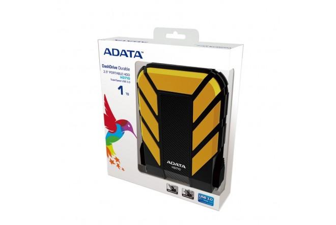 Disco Duro ADATA Antigolpes HD710 1TB Amarillo-2