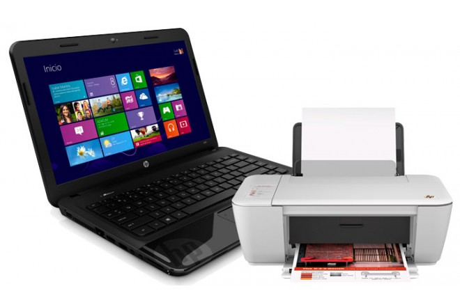 Notebook HP 1000-1430 + Multifuncional HP D1515
