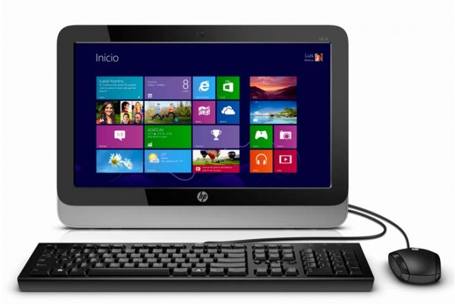 PC All in One HP 18-5010la + Multifuncional