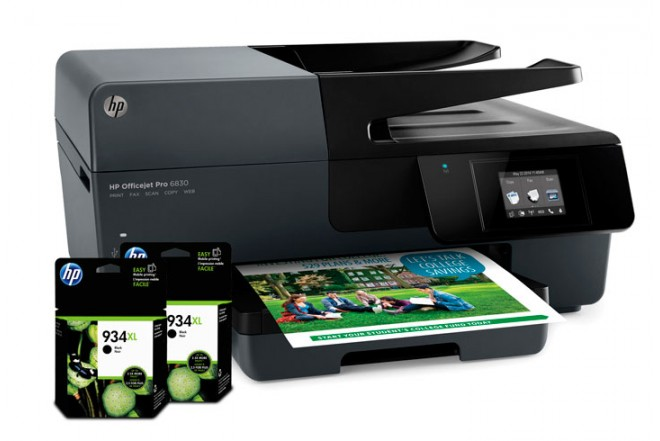 Multifuncional HP 6830 + Tintas