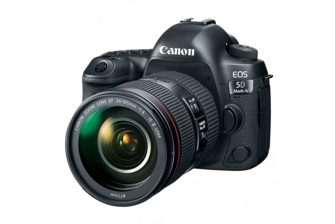 Cámara CANON Profesional EOS 5D Mark IV Negra + Lente EF 24-105mm f/4L IS USM KIT