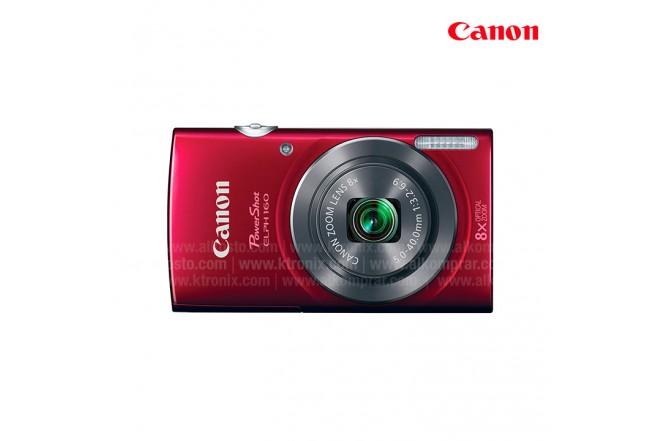 Camara CANON ELPH160 Roja Compacta