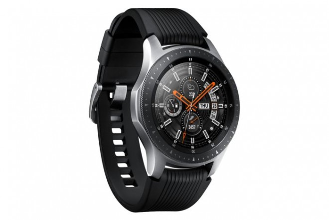 Reloj SAMSUNG Galaxy Watch LTE 46MM Plateado-4