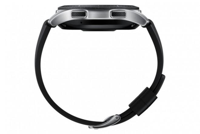 Reloj SAMSUNG Galaxy Watch LTE 46MM Plateado-2