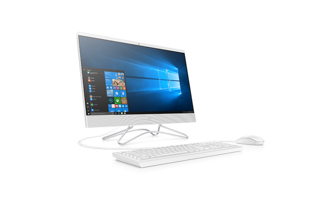 "Computador All in one HP 22-c100la AMD R3  Disco Duro 1 TB - 21.5"" Pulgadas Blanco 2"