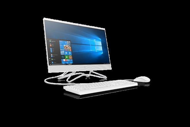 """Computador All in one HP 24-f102la AMD R3  Disco Duro 1 TB + 128 GB Disco Estado Sólido - 23.8"""" Pulgadas Blanco 2"""