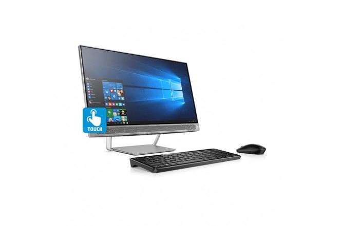 """PC All in One HP 24-B007 23.8"""" A9 Negro"""