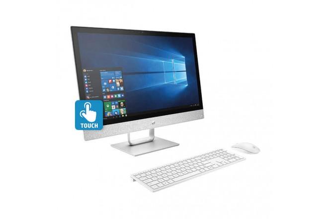 """PC All in One HP- 24-R011LA - Intel Core - 23.8"""" Pulgadas – Disco Duro 1Tb – Blanco"""