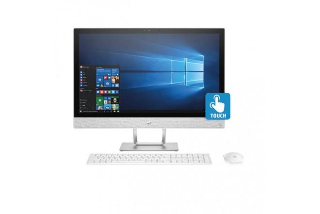 """PC All in One HP- 24-R016 - AMD - 23.8"""" Pulgadas – Disco Duro 1Tb – Blanco"""
