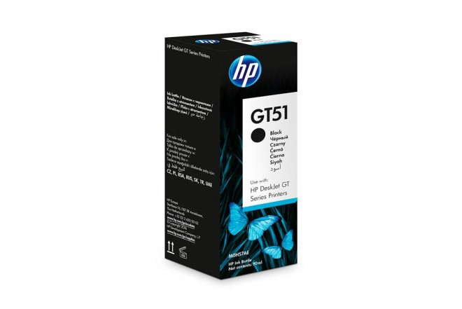 Botella de Tinta HP GT51 Black