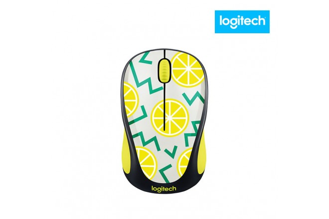 Mouse inalámbrico LOGITECH Optico 317 Lemon