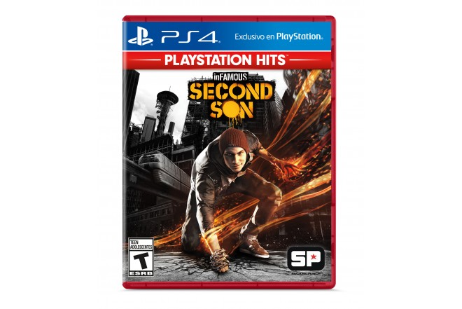 Videojuego PS4 inFamous Second Son