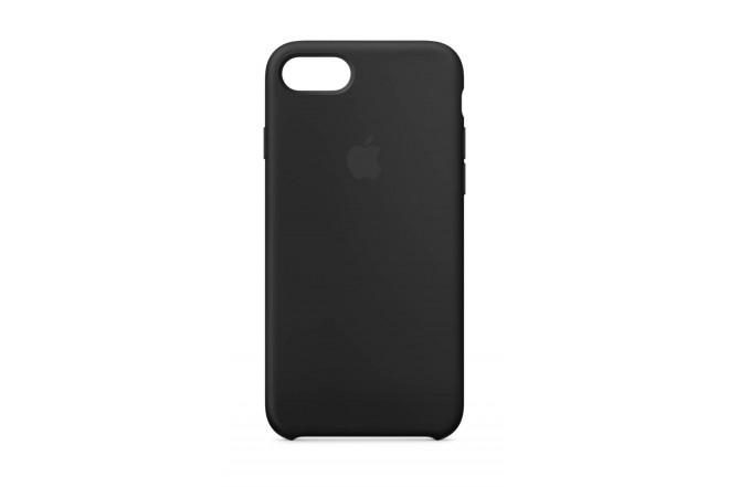 Case iPhone 8/7 Silicone Negro