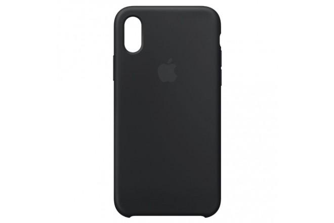 iPhone Case X Silicone Negro