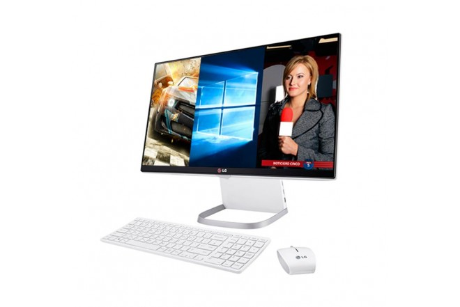 PC All in One LG 24V550 3 en 1 Core™ i5 Blanco