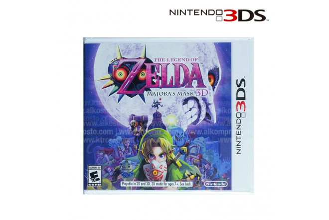 Videojuego NINTENDO 3DS The Legend of Zelda Majora's Mask 3D