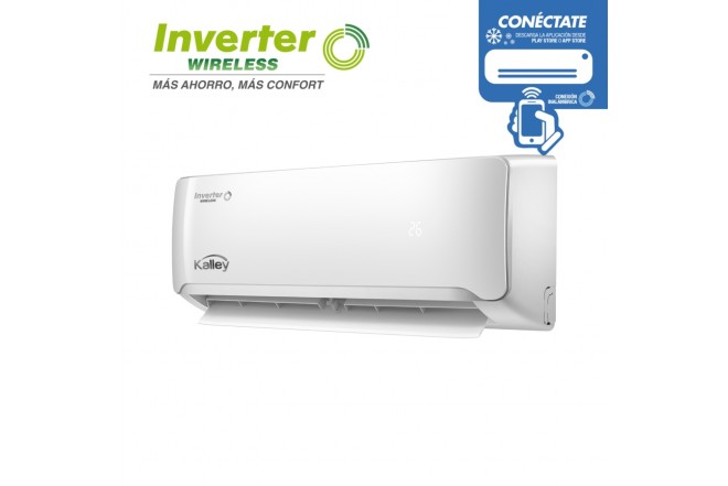 Aire Acondicionado KALLEY Inverter 12000 BTU 110V BWV2