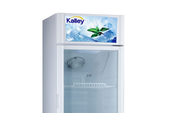Nevera KALLEY Vitrina 211Lt KSC211 Blanco