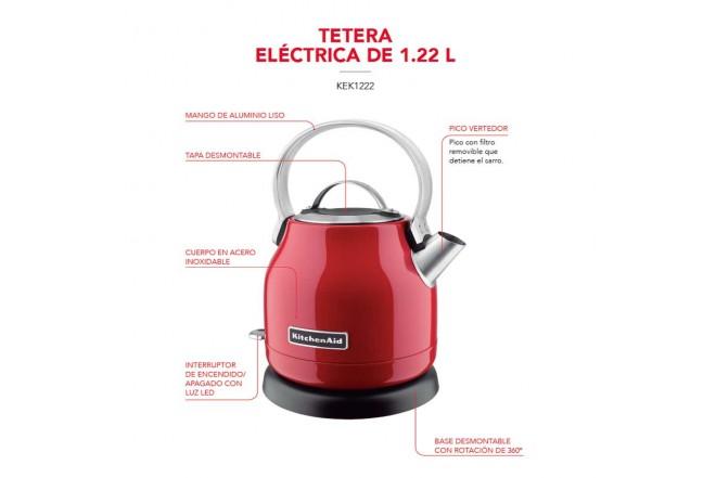 Tetera Eléctrica KITCHENAID 1.2L R