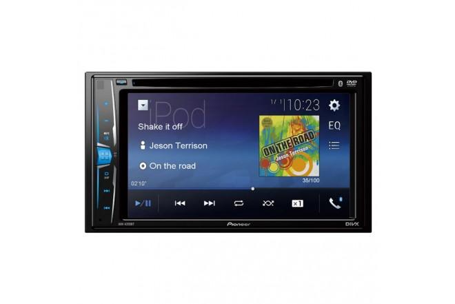 Radio Auto2Din PIONEER AVH-A205 Bluetooth