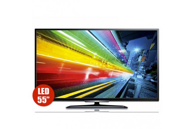 "TV 55"" 139.7 cm LED PHILIPS 55PFL4901 Full HD"