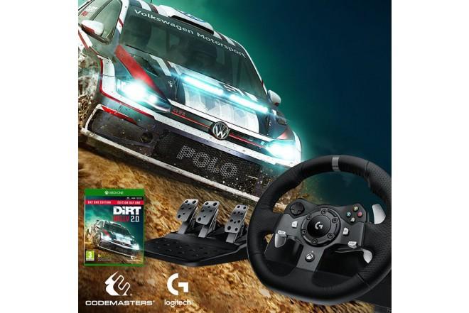 Timón LOGITECH PC/XBOX One G920 Gaming