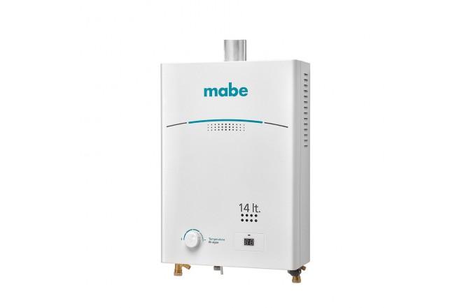 Calentador de Paso MABE de Tiro Forzado 14L CMD14TFBC Blanco 2