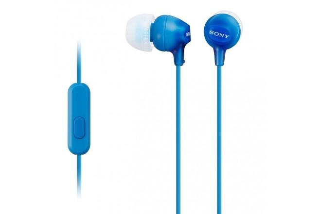 Audífonos SONY InEar ML EX15AP Azul