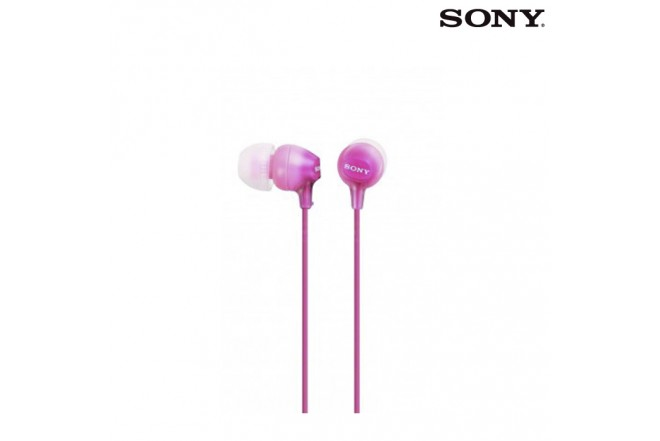 Audífonos SONY Alámbricos InEar EX15 Rosado