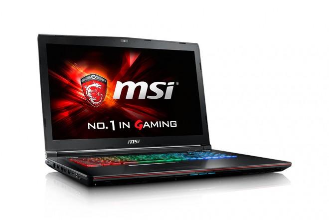 "Portátil MSI GE72 Core i7 17.3"" Negro - Gamers"