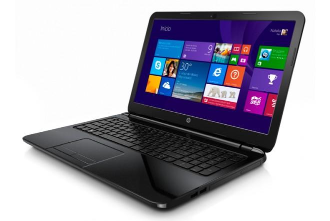 Notebook HP 15 - G014LA Negro
