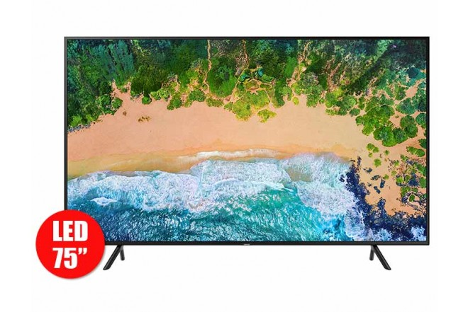 "TV 75"" 194cm SAMSUNG 75NU7100 4K UHD Internet (TV LED)"