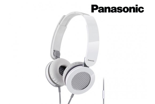 Audífonos PANASONIC Alámbrico OnEar Rojo DJS-150
