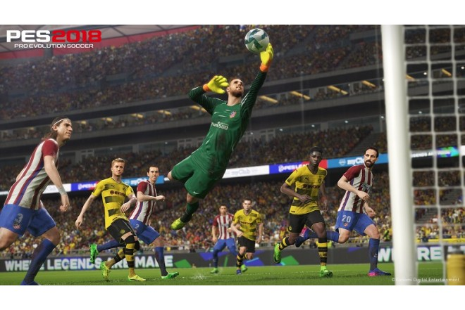 Videojuego PS4 Pro Evolution Soccer 2018-c