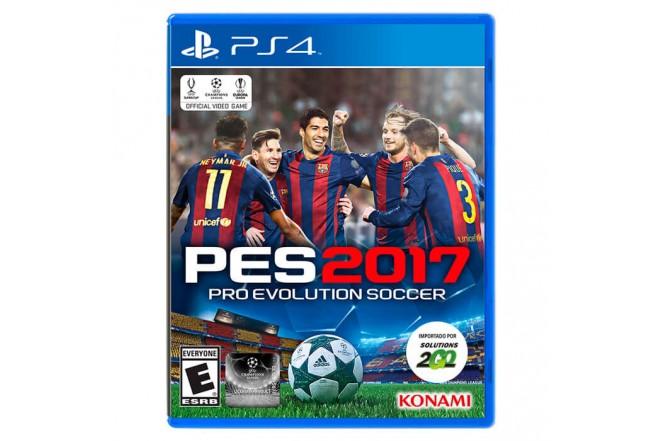 Videojuego PS4 Pro Evolution 2017